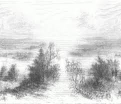 pencil sketches of nature drawing sketch education