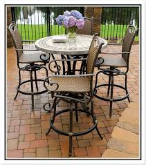 High Patio Table And Chairs Tall Patio Chairs Twinkle
