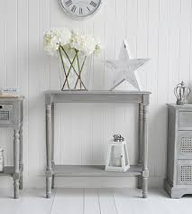 Grey Console Table Colonial Furniture Range In Grey Console Table From The
