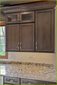 Kitchen Cabinets Restaining Staining Kitchen Cabinets Darker Without Sanding New How To