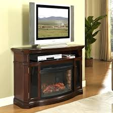 tv stand ergonomic fake fireplace tv stand for living room faux
