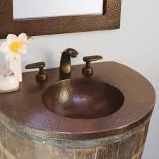 bathroom sink wonderful bordeaux copper vanity top v inch