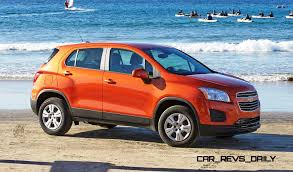 stanced jeep renegade 2015 chevrolet trax usa arrival in september to battle juke honda