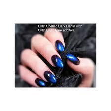 creative nail design cnd creative nail design additives pigment effect blue