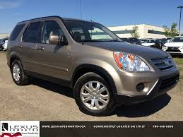 lexus nx or honda hrv pre owned tan 2005 honda cr v 4wd ex at se walk around review