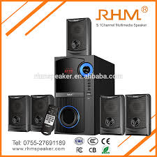 home theater 5 1 rhm home theater 5 1 channel multimedia speaker with usb fm for