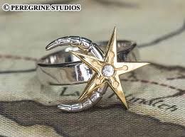 skyrim real rings images Moon and star ring plated brass by peregrinestudios jpg