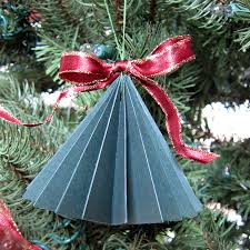 Christmas Decorations Paper Tree by Paper Xmas Tree Decorations