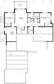 contemporary style house plan 3 beds 2 50 baths 2687 sq ft plan