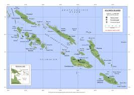 islands map soloman islands map soloman islands mappery