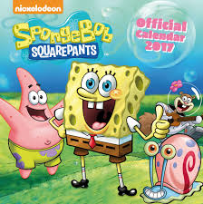spongebob calendars 2018 on europosters calendar 2018 spongebob