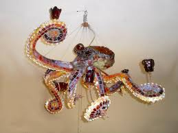 Adam Wallacavage Chandeliers For Sale by Oblong Headed Style Octopus Chandelier Let There Be Lamp