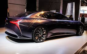 lexus lf fc fuel cell lexus lf fc hints at a curvy new ls model pictures cnet page 5