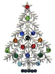 avon 2007 4th annual christmas tree pin collectible brooch