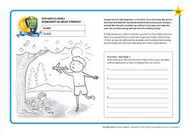 worksheets to accompany george the sun safe superstar