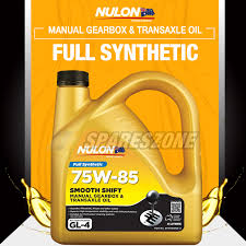 full synthetic 75w 85 manual gearbox transaxle oil 4l mitsubishi