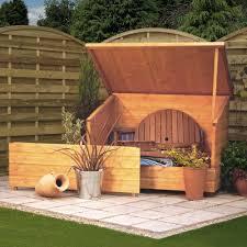 4 6 x 3 ft 1 4 x 0 9m wooden garden storage chest log store