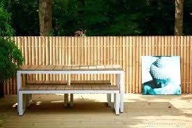 bamboo garden bench uk bamboo fencing bamboo garden furniture