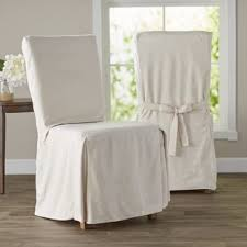 white slipcover dining chair kitchen dining chair covers you ll wayfair
