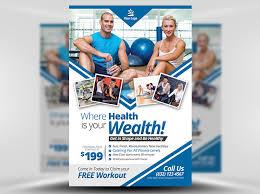 fitness flyer template fitness flyer template flyerheroes