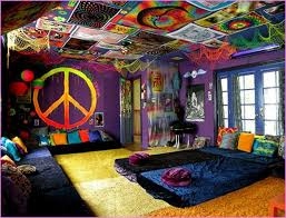 Trippy Room Decor Trippy Hippie Room Decor Setting Hippie Room Decor