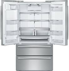 French Door Fridge Size - bosch b21cl81sns 36 inch 4 door counter depth french door
