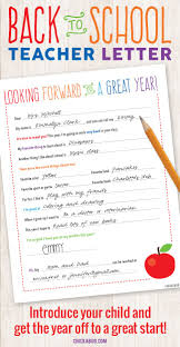top 25 best teacher letters ideas on pinterest letter to