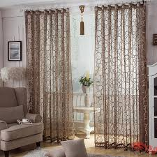 nice curtains for living room coffee colored custom made living room sheer curtains otb1125272