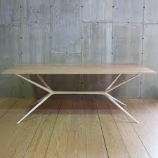 40 X 40 Dining Table R T Facts Italian Job Dining Table With Chamfered Edge Cerused