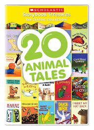 amazon com 20 animal tales scholastic storybook treasures the