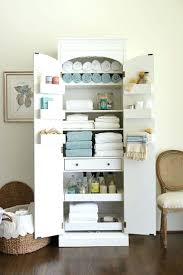 bathroom linen closet ideas no linen closet solution aminitasatori