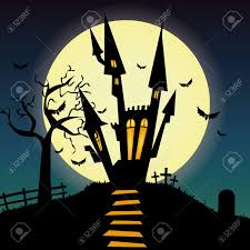 halloween silhouette background halloween transparent castle picture gallery yopriceville