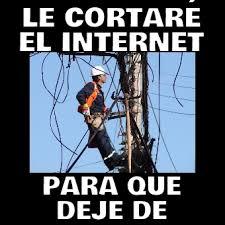 Memes De Internet - le cortar礬 el internet para que memes en quebolu