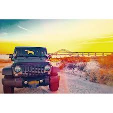 american flag jeep under the sun black out wrangler jk grille insert black out usa