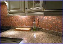 copper kitchen backsplash tiles copper tiles for kitchen backsplash
