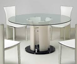 mirrored dining room table smooth base