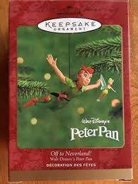 2000 disney pan hallmark ornaments second to the