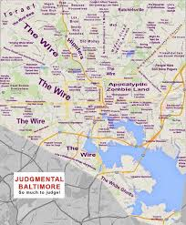 me a map of maryland a accurate stereotype map of baltimore credit houses