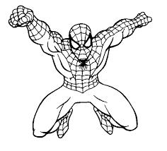 coloring marvelous spider man color asm coloringsheet 4