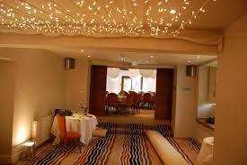 make a splash of string light in room with different decorative