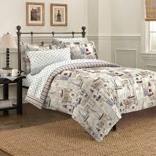 free spirit cape cod mini bed in a bag bedding set walmart com