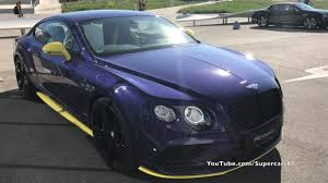 purple bentley mulsanne bentley continental gt speed black edition in azure purple