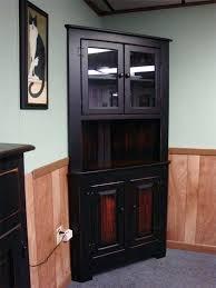 black corner china cabinet corner china cabinet and hutch upandstunning club