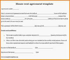 rental agreement contract summer short term rental lease