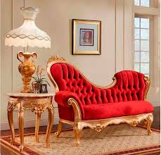 Chaise Lounge Red French Provincial Chaise Lounge 756 Provincial