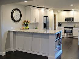 shaker white painted cabinets texas kitchen ideas