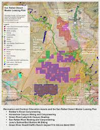Blm Maps Utah by Utah Blm Announces Master Leasing Plan For San Rafael Desert