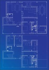 6 interior floor plan drawing theme vector free vector in
