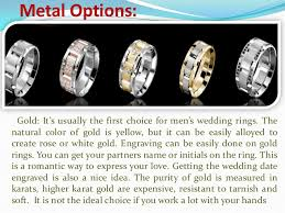 mens wedding band metals 7 clarifications on mens wedding ring metals mens wedding