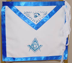 Aprons Printed Blue Lodge Aprons